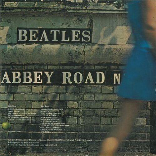 THE BEATLES Abbey Road Vinyl Record LP Apple